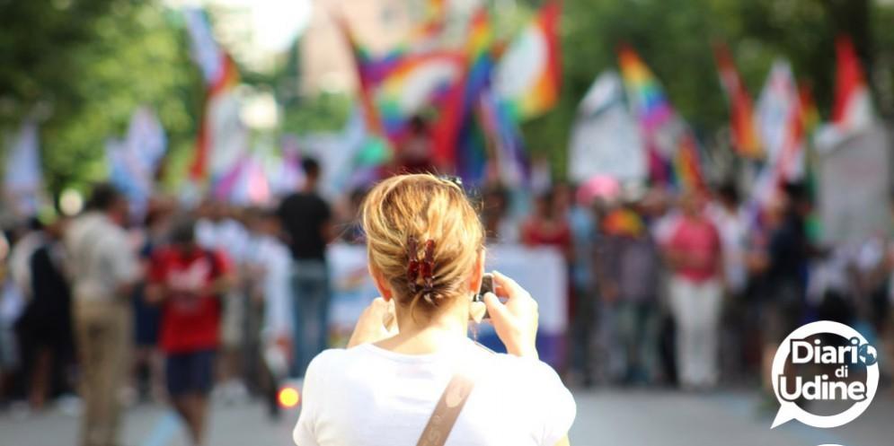 Pride Fvg: le immagini della sfilata (© Diario di Udine)