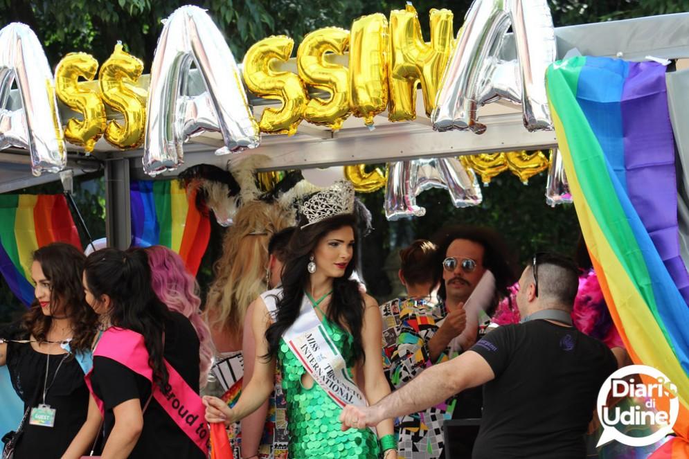 Pride Fvg: le immagini della sfilata