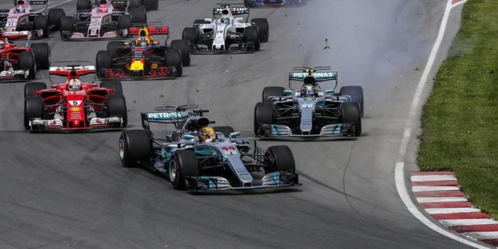 F1 Canada, parata Hamilton. Poi Bottas e Ricciardo. Ferrari: Vettel è solo 4°