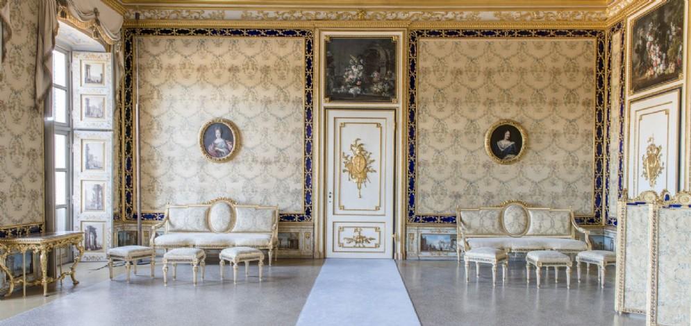 Il restauro dell'Appartamento del Re nella Palazzina di Caccia di Stupinigi (© Ufficio stampa Fondazione CRT)