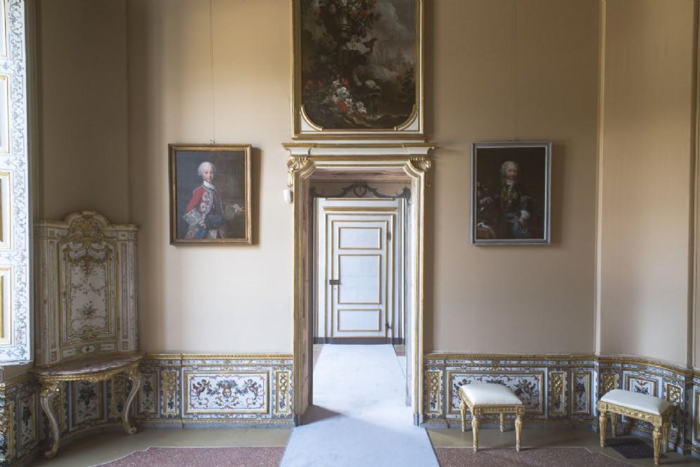 Il restauro dell'Appartamento del Re nella Palazzina di Caccia di Stupinigi