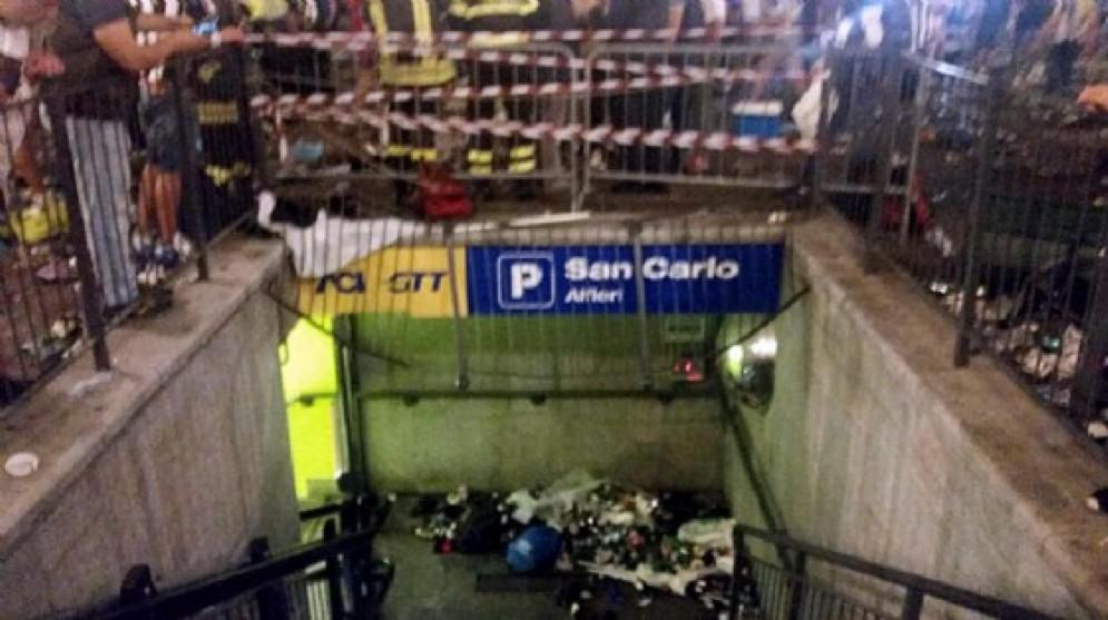 Indagini sul sistema di aerazione del parcheggio sotterraneo