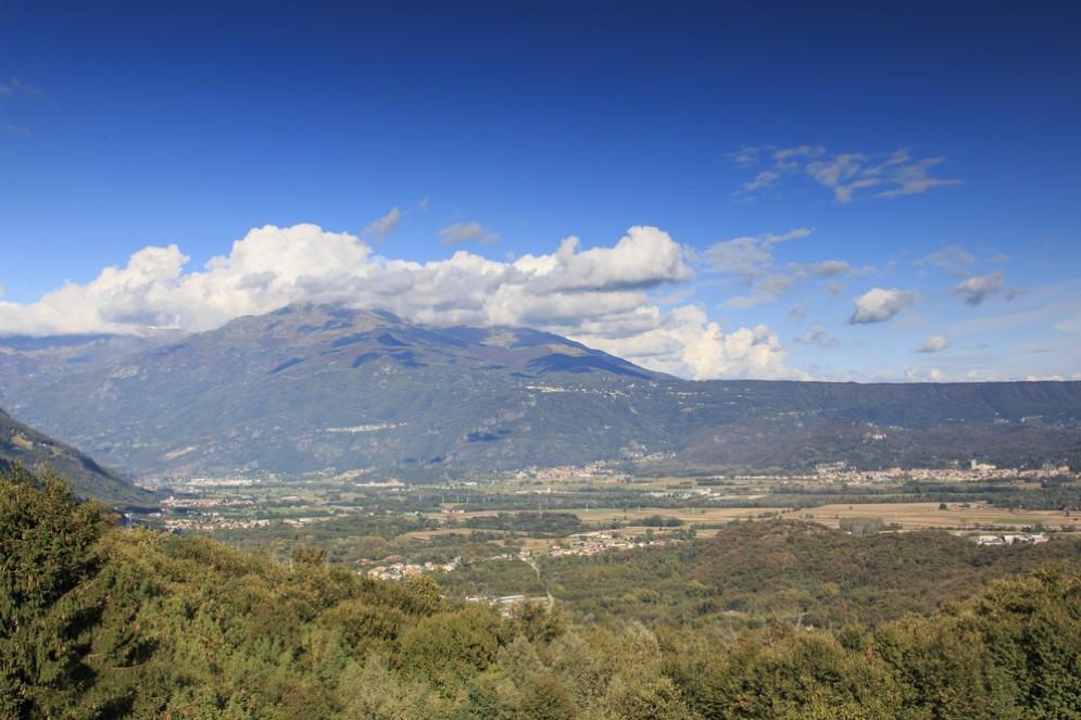 Vista panoramica sulla Serra