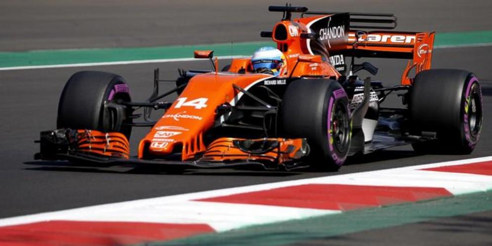 La McLaren Honda F1