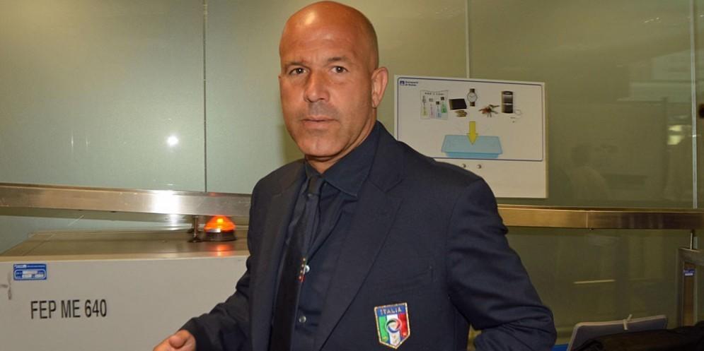 Luigi Di Biagio, commissario tecnico dell'Italia Under 21 dal luglio 2013