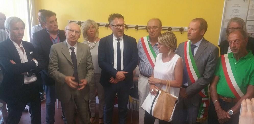 La giornata di apertura delle Case è stata seguita da sindaci e rappresentanti della regione Piemonte