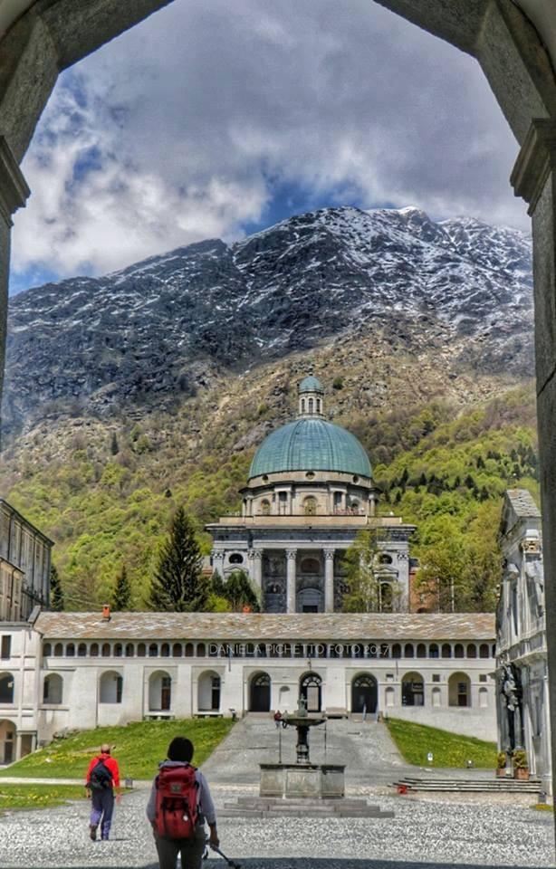La cupola del Santuario di Oropa