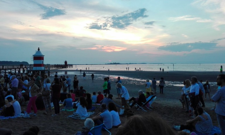 Lignano ha dato il benvenuto all'estate con un concerto all'alba