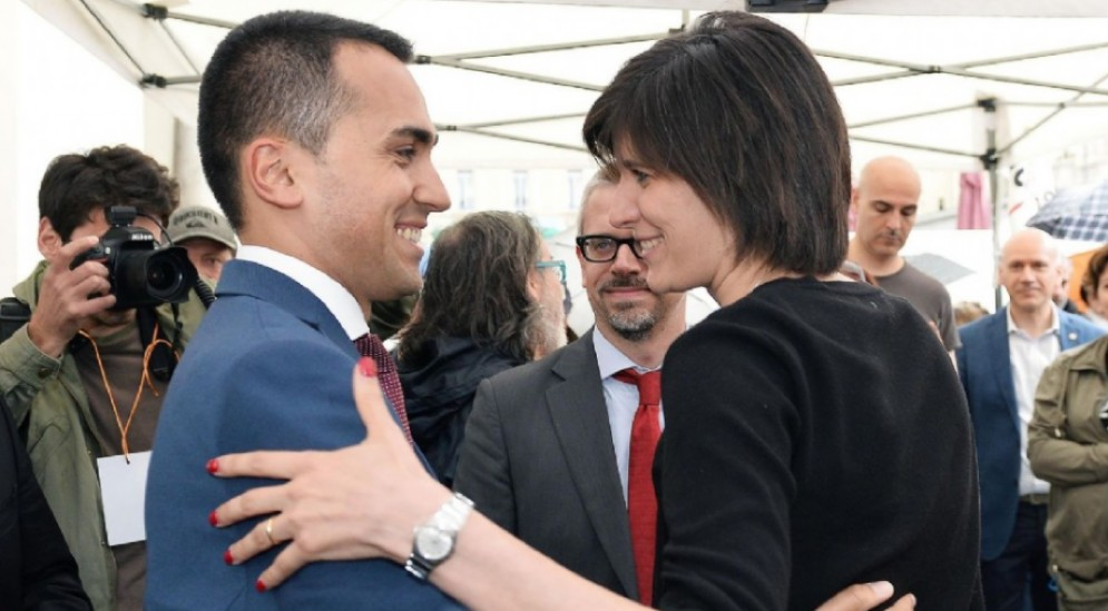Il comizio di Luigi Di Maio a sostegno della Candidata Sindaco di Torino del M5S Chiara Appendino in Piazza San Carlo