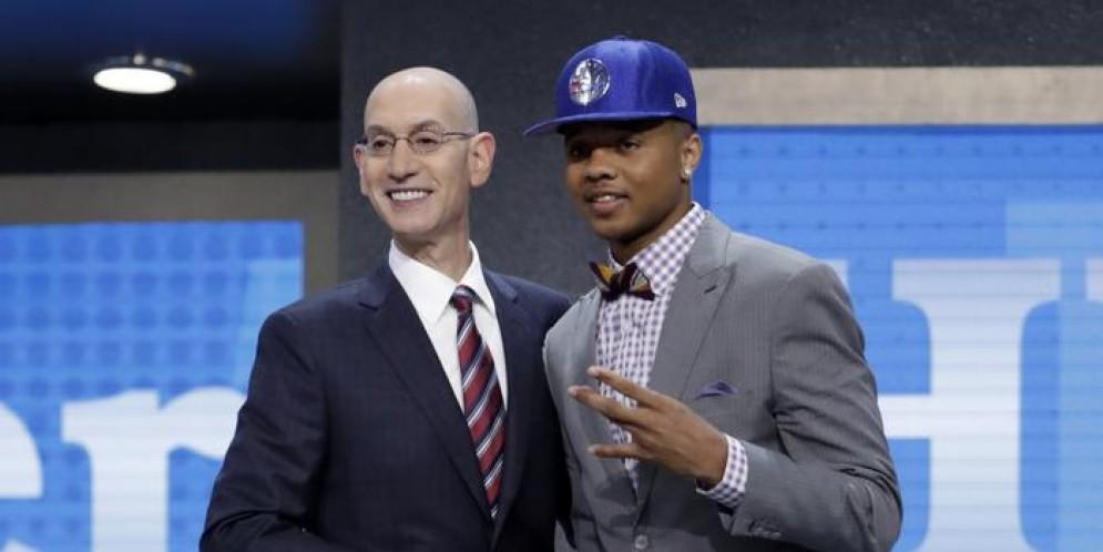 Draft NBA, Markelle Fultz: «Un sogno che si realizza»