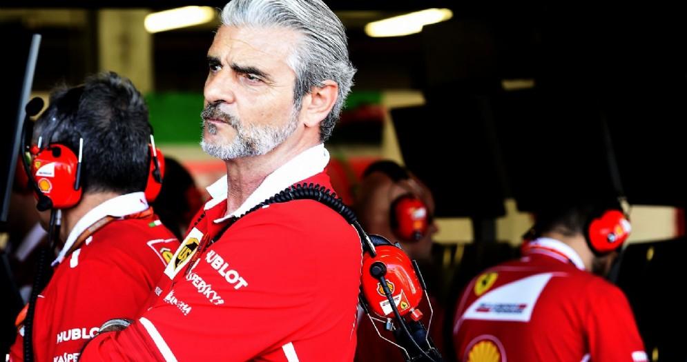 Il team principal della Ferrari Maurizio Arrivabene
