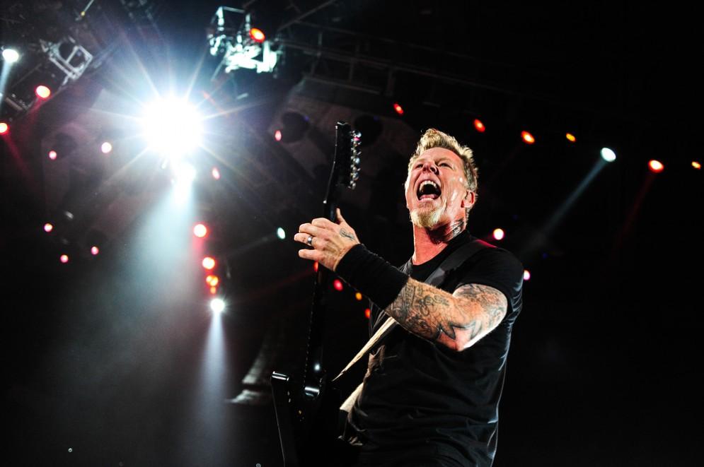 i Metallica a Torino