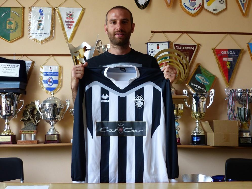 Il giocatore è pronto a dare il massimo nel campionato insieme ai suoi ex compagni del Borgaro, Pierobon e Ferrarese