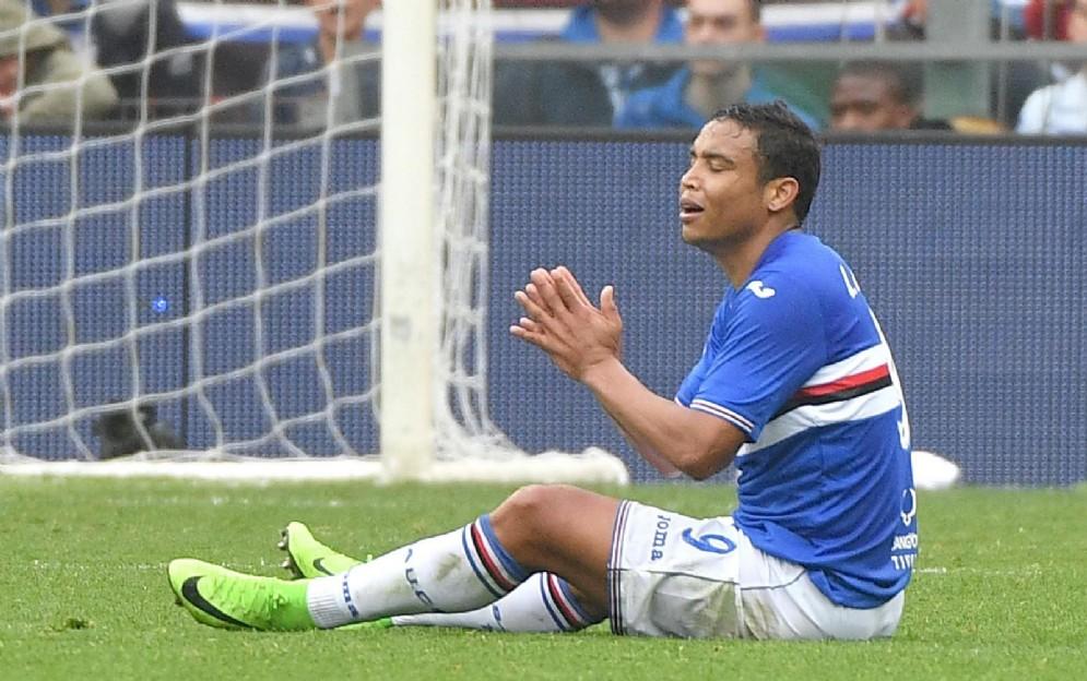 Luis Muriel, attaccante colombiano della Sampdoria