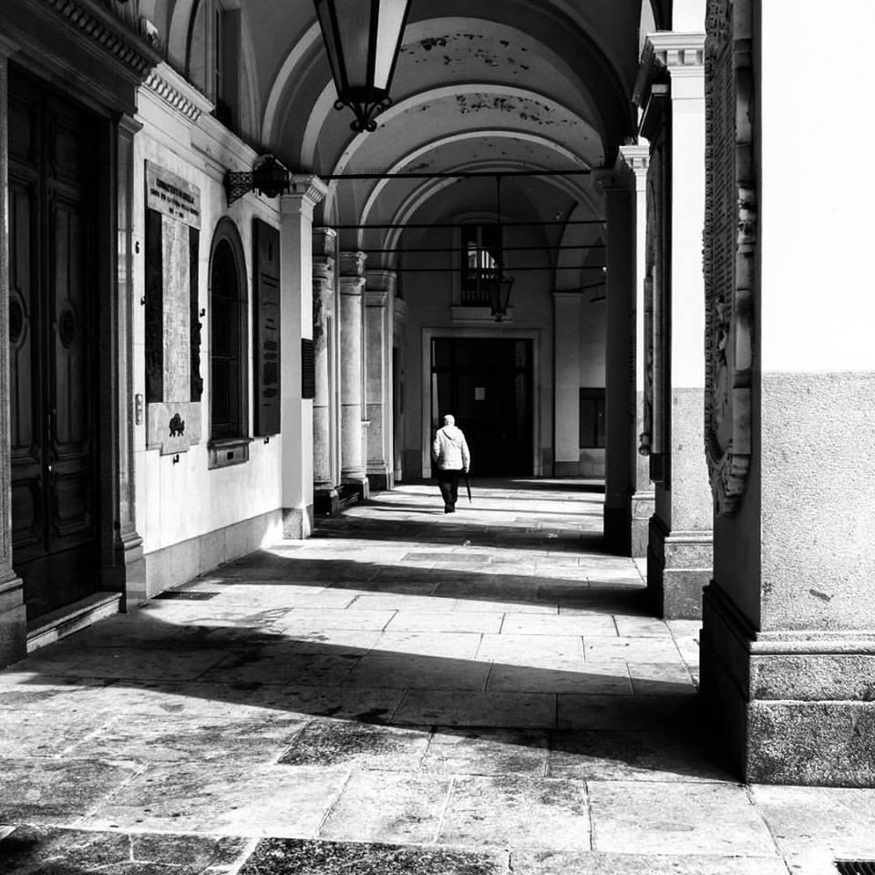 I portici di piazza Duomo