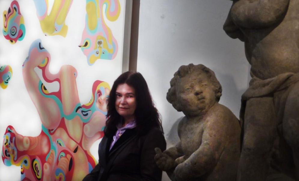 L''artista Ivana Haie