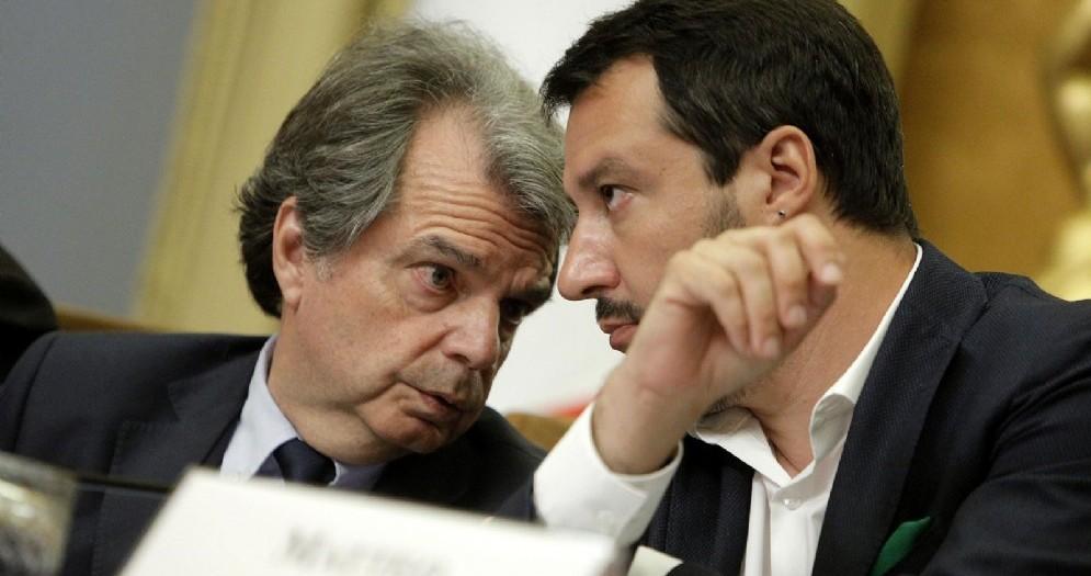 Il capogruppo alla Camera di Forza Italia Renato Brunetta lancia un appello al leader della Lega Nord Matteo Salvini
