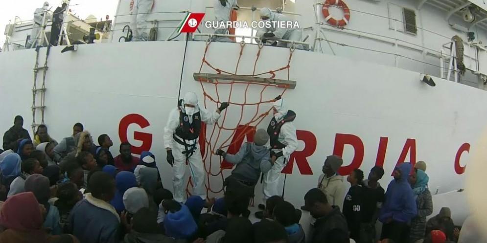 Guardia Costiera italiana in azione