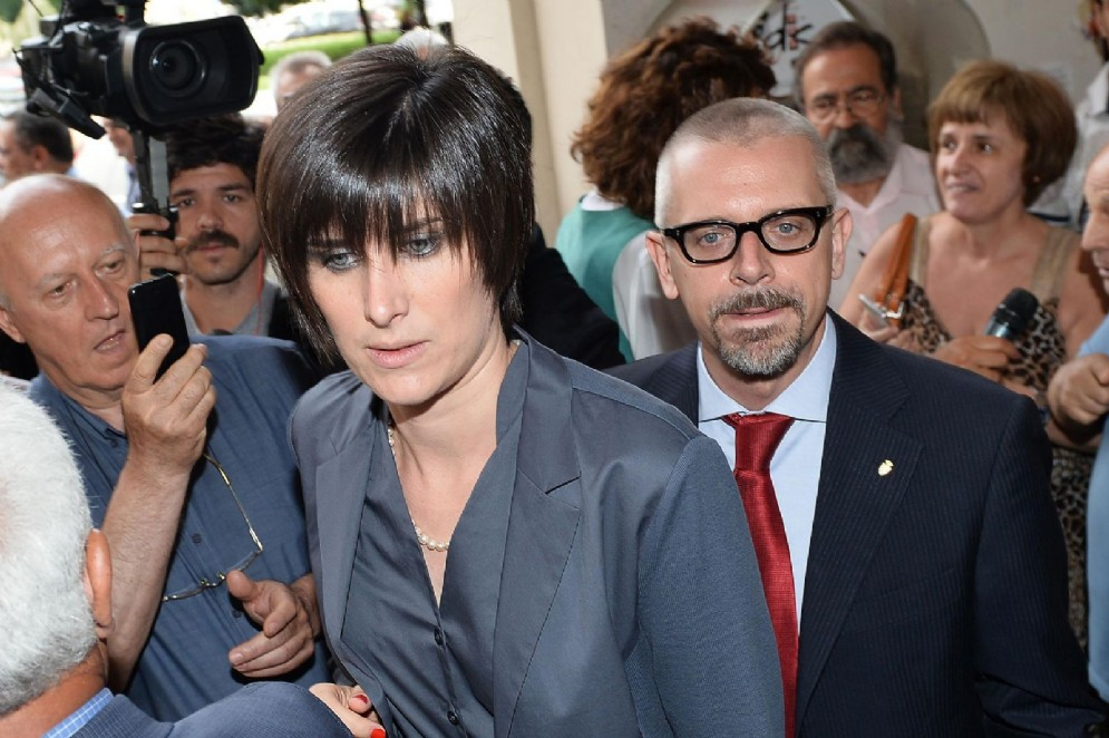 Chiara Appendino con il capo di Gabinetto Paolo Giordana