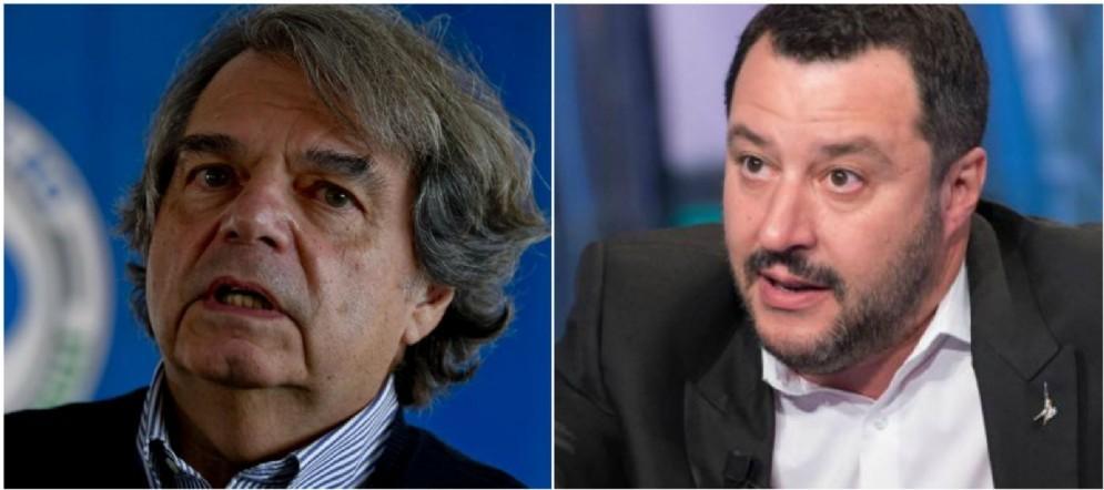 Il forzista Renato Brunetta attacca il leader leghista Matteo Salvini.