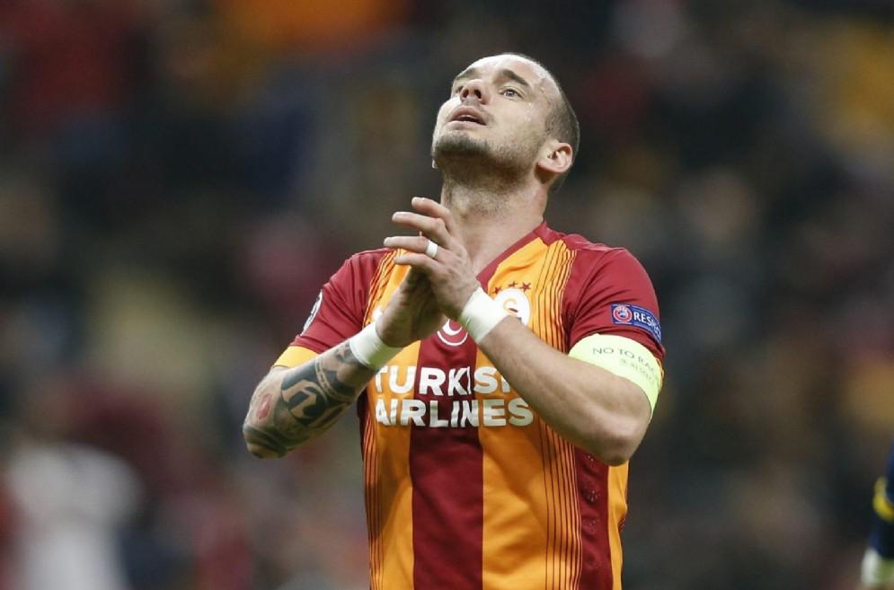 Wesley Sneijder, fantasista olandese del Galatasaray
