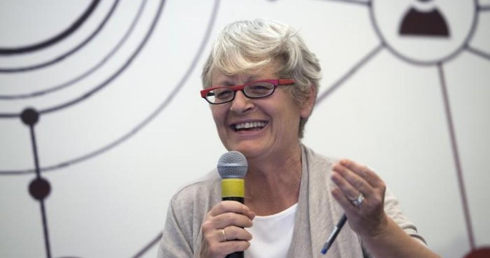 La leader della CISL, Annamaria Furlan