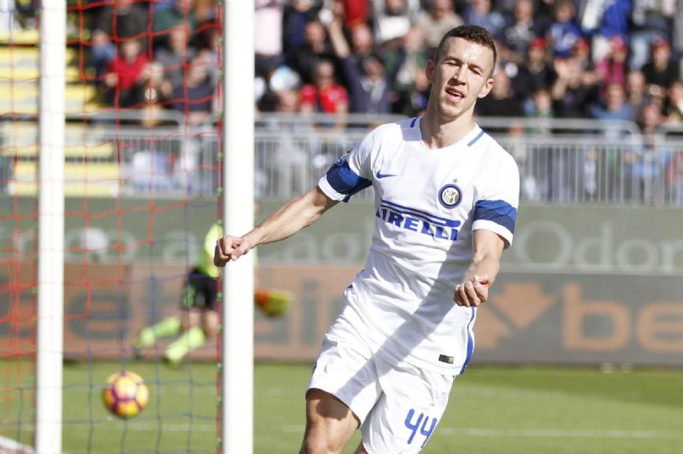 Ivan Perisic, attaccante dell'Inter e della nazionale croata