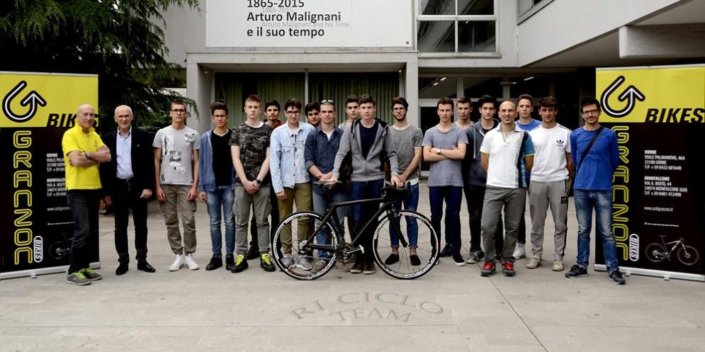 Ri-ciclo: è a bicicletta made in Malignani!