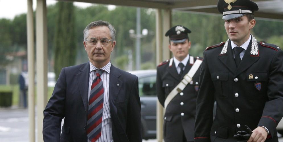 L'ex comandante dei Ris di Parma, Luciano Garofano, in un'immagine di repertorio