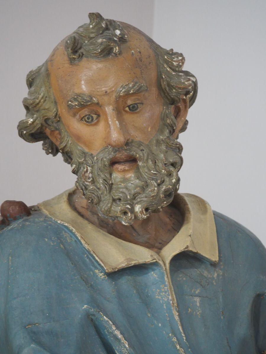 Volto della statua di San Pietro