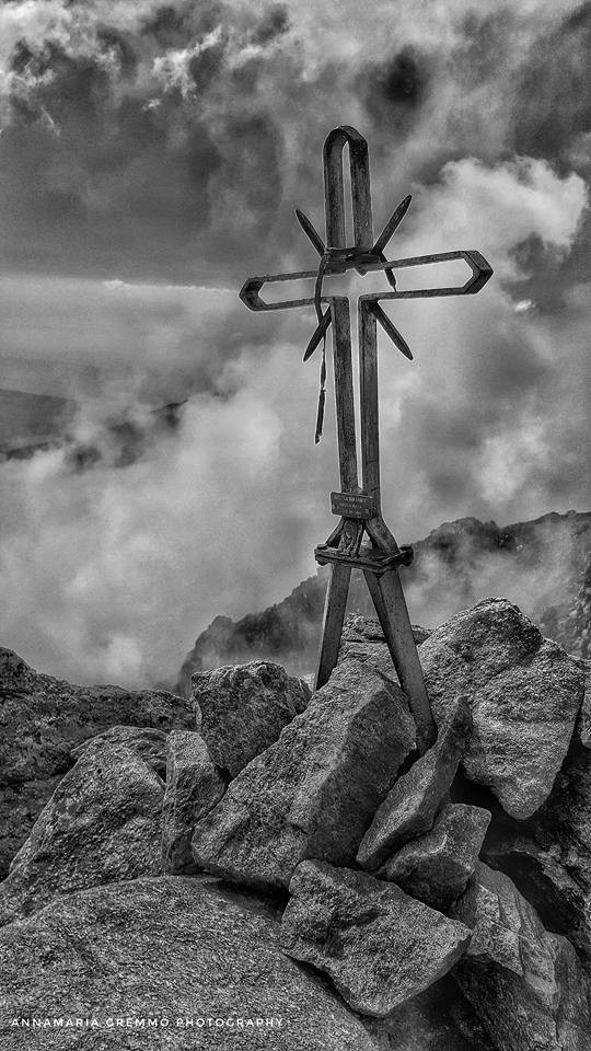 La vetta del Monte Mars (2.600 m)