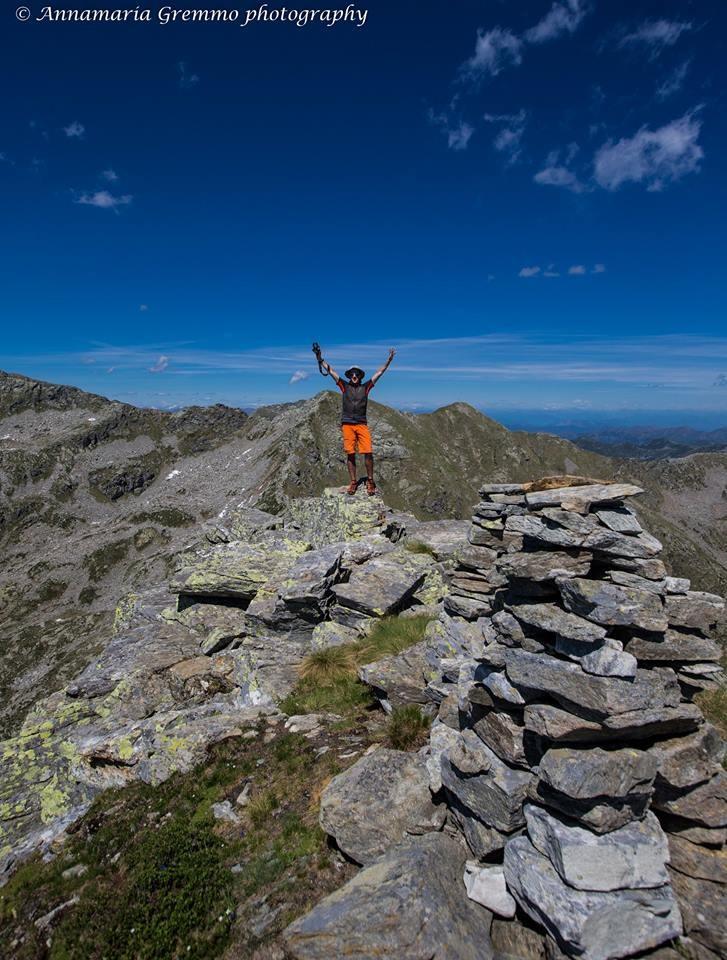 In vetta al Monte I Gemelli  (2.476 m)