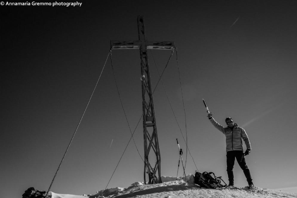 La vetta del Monte Tovo (2.230 m)