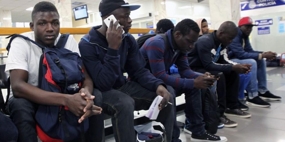 Migranti in attesa di ricollocazione