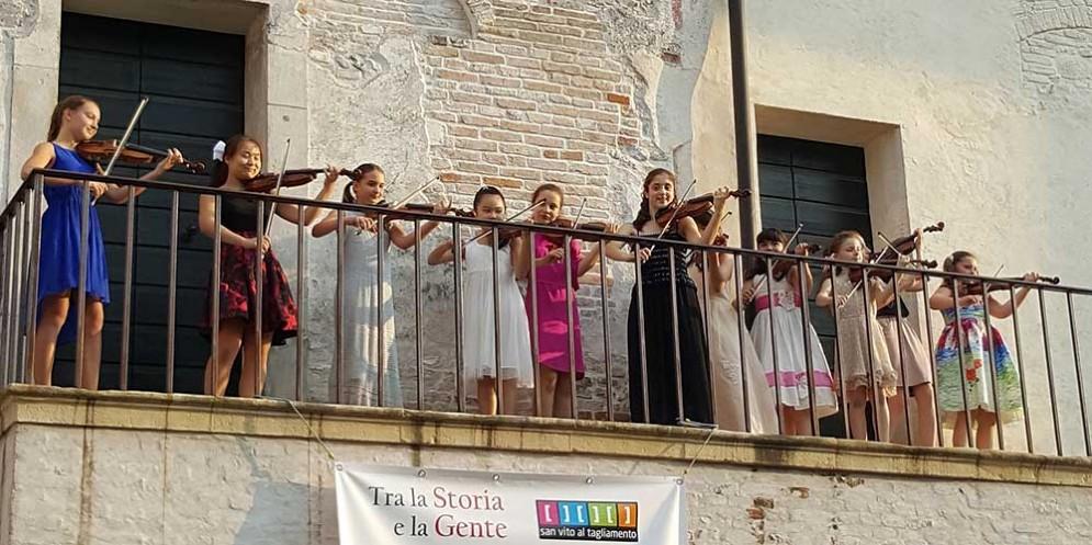 Piccolo violino magico: al via a San Vito al Tagliamento la seconda edizione del concorso internazionale