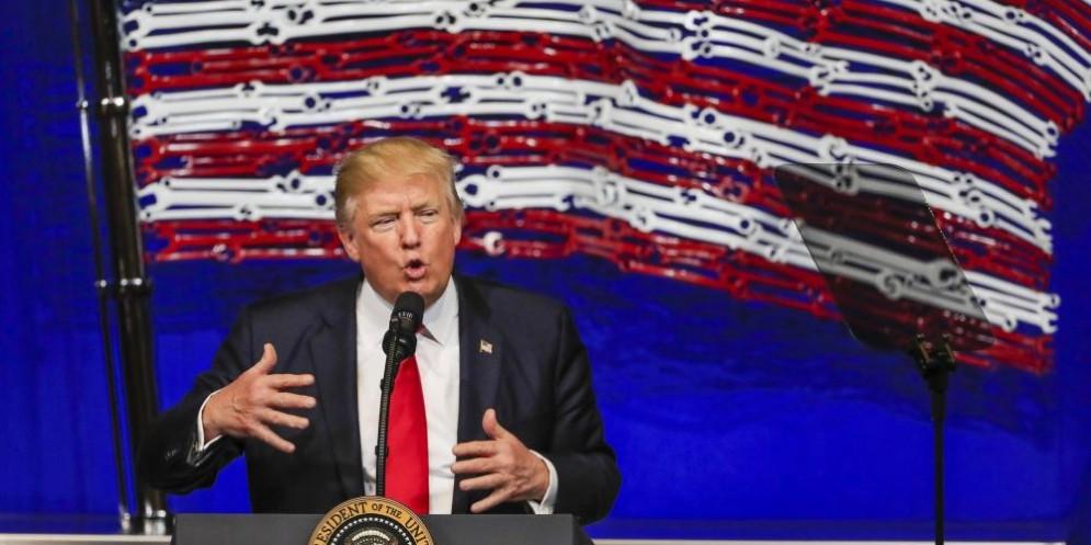 Donald Trump pronto all'azione militare