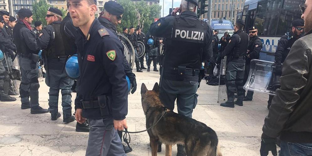Polizia a Milano
