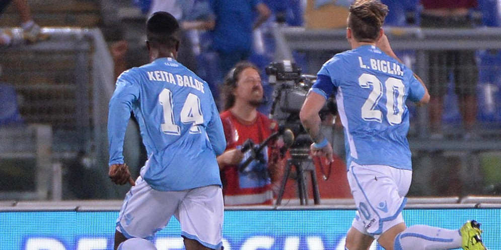 Biglia e Keita: il primo è un obiettivo del Milan, il secondo non più