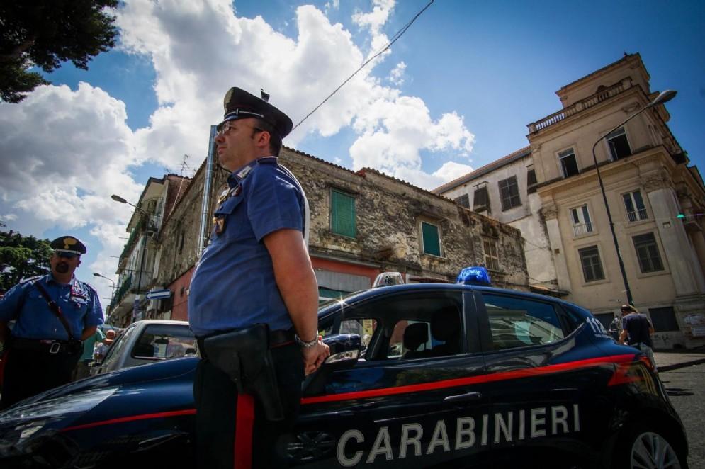 Ritrovato il 43enne di Podenzano. In foto: una gazzella dei carabinieri