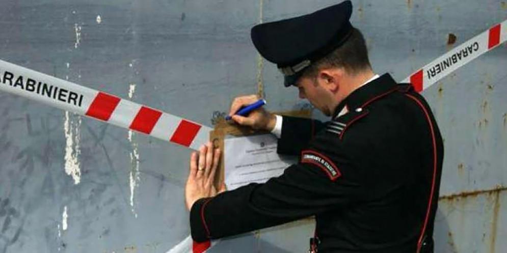 Carabinieri blitz a Messina