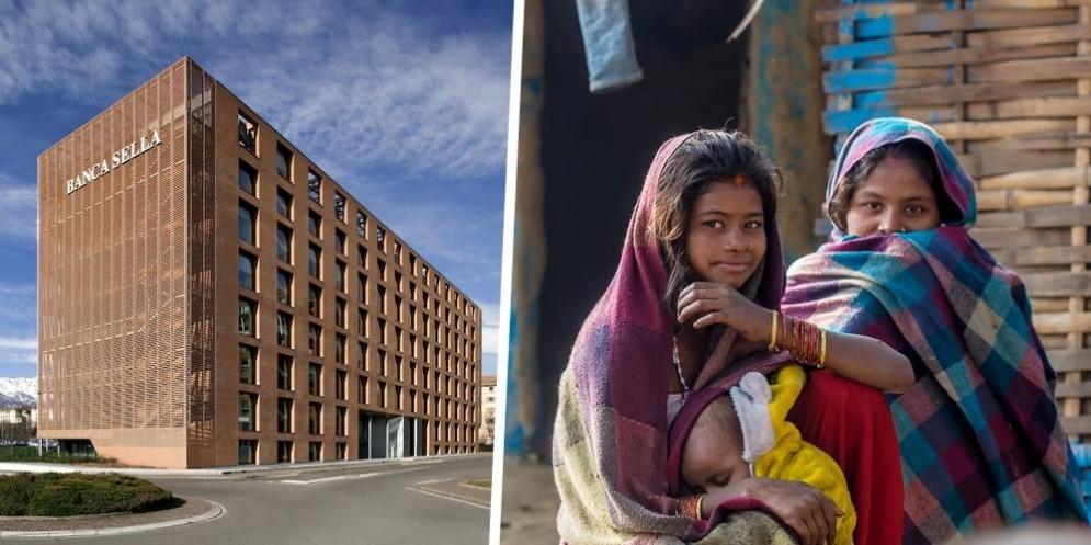 Uno dei progetti sostenuti da Sella Gestioni «Giovani imprenditrici in Bangladesh»