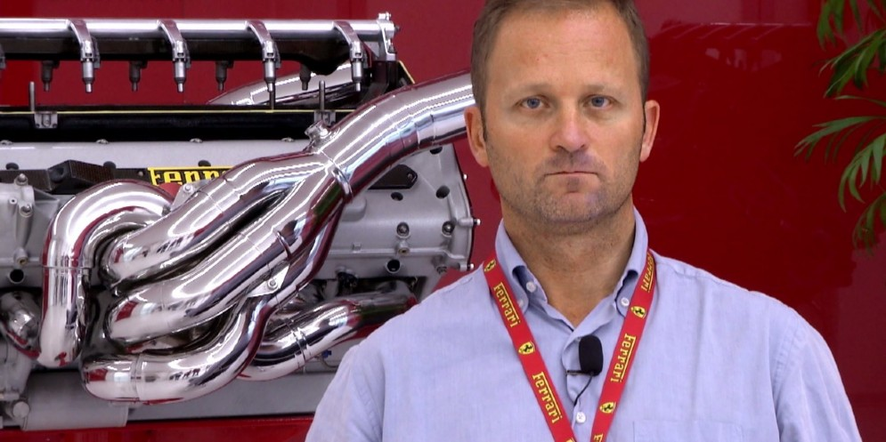 Il progettista dei motori Lorenzo Sassi