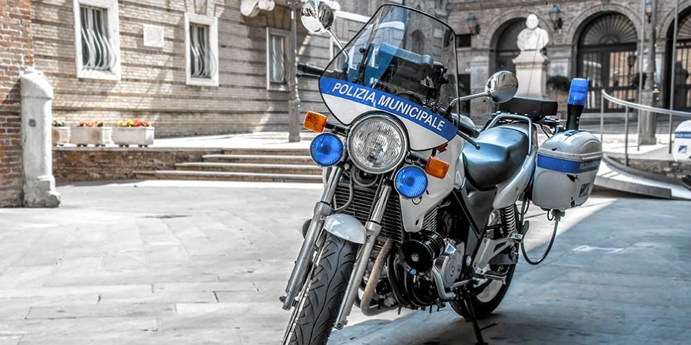 Polizia Municipale a Roma