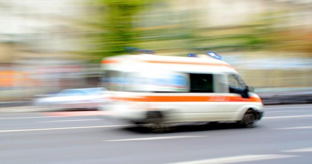 Immagine di repertorio di un'ambulanza