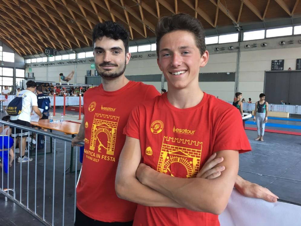 Giulio Andreotti e Gregorio Neggia