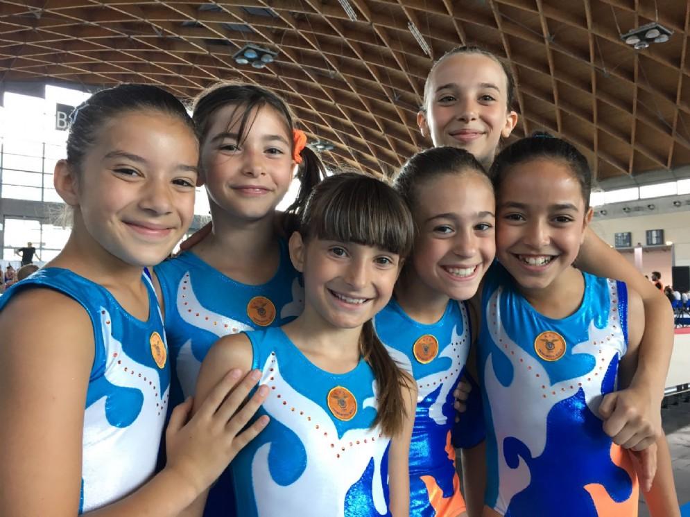 Giulia Debernardi, Nina De Bernardi, Khadija Ez Zahiraoui, Isotta Passini, Giulia Pelliciari e Margherita Tavaretti