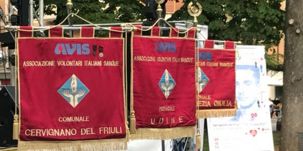 A Cervignano celebrati i 90 anni dell'Avis