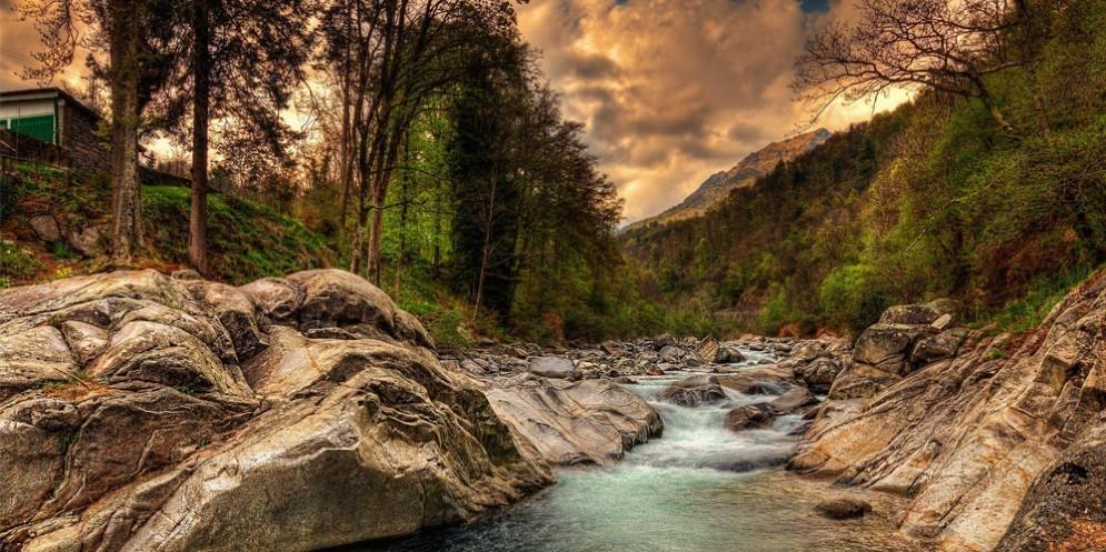 Il torrente Cervo (© Mattia Paschetto)