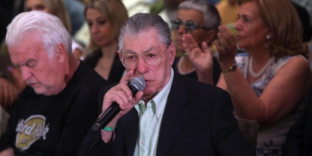 Il fondatore della Lega Umberto Bossi