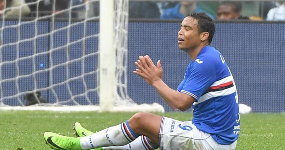 Luis Muriel in campo